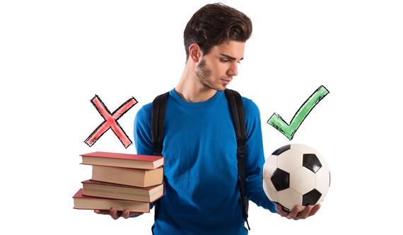 supporto scolastico atleti adolescenti, andamento scolastico, studenti e sport